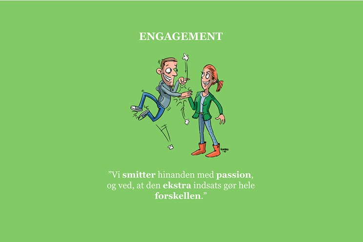 Værdien engagement